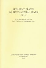 Apparent Places of Fundamental Stars